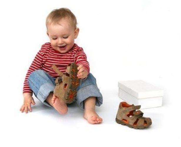 Как узнать размер ноги ребенка