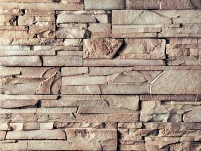 Стенная плитка под камень для внутренней отделки помещений.