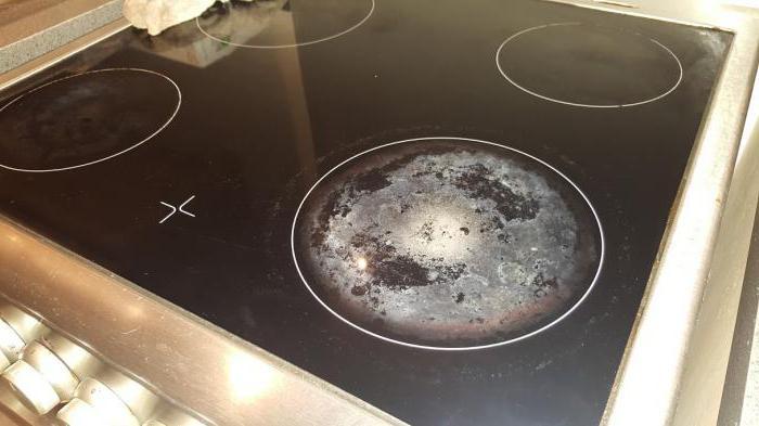 Как отмыть электрическую плиту в домашних условиях