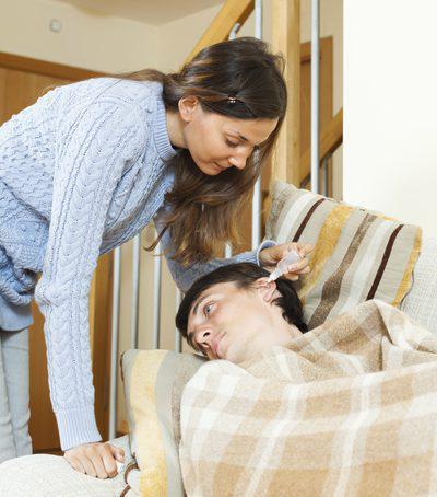как лечить острый отит взрослому