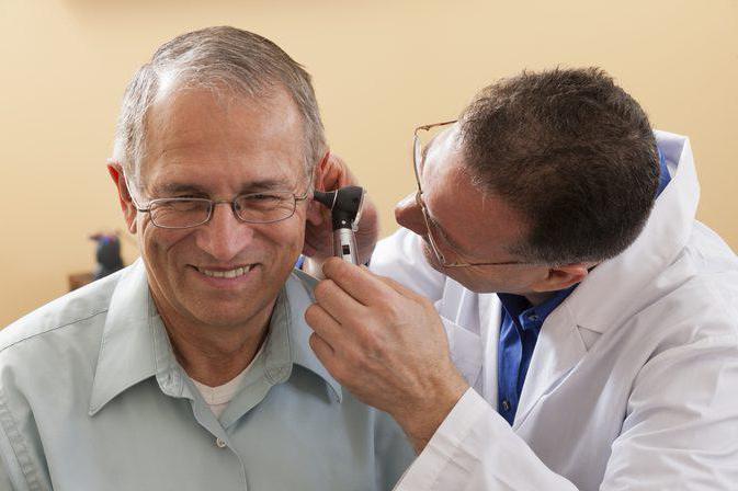 острый средний серозный отит у взрослых лечение
