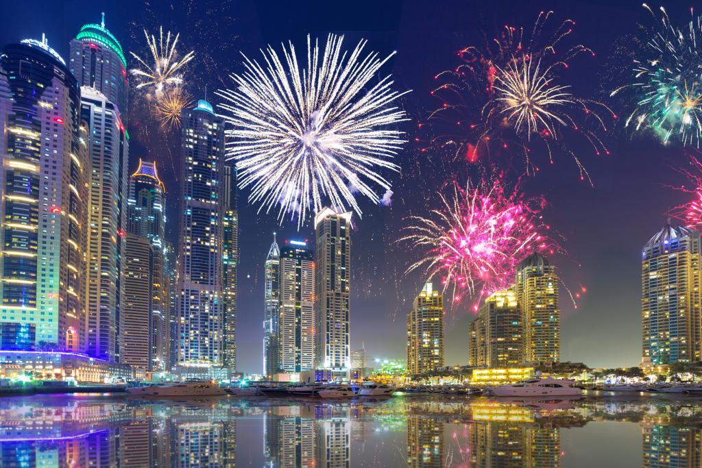 Новогодняя ночь в Дубаи