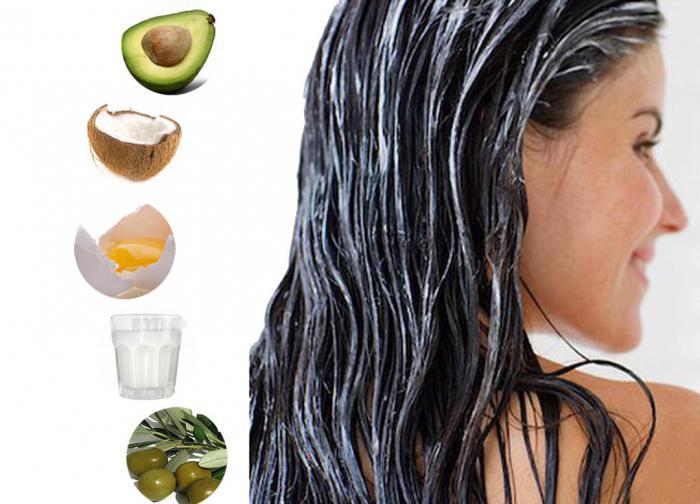 Маска от выпадения волос мед желток масло касторовое