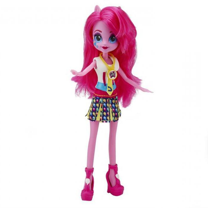кукла пинки пай со знаком