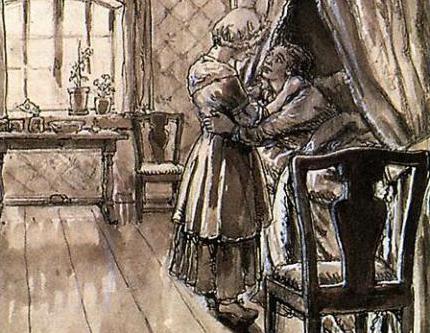 капитанска дочка про семью дом и воспитание