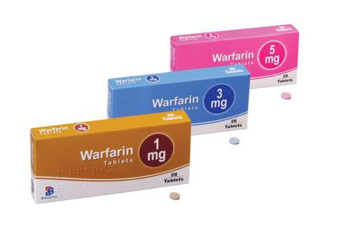 диета при приеме варфарина