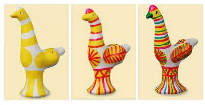 Технология росписи филимоновской игрушки