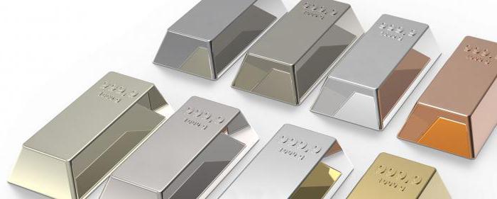 цветными металлами являются