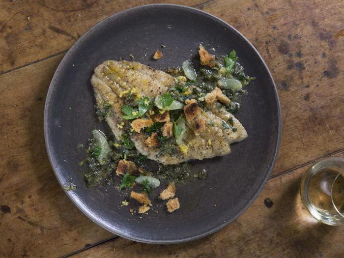 рыба камбала рецепты приготовления