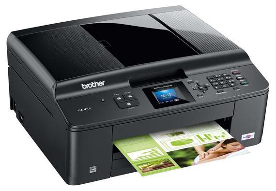 свойства принтера принцип печати струйный