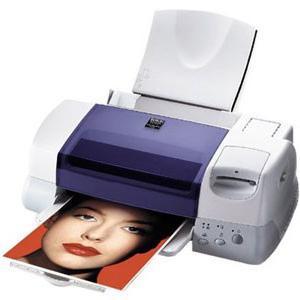 как печатает струйный принтер