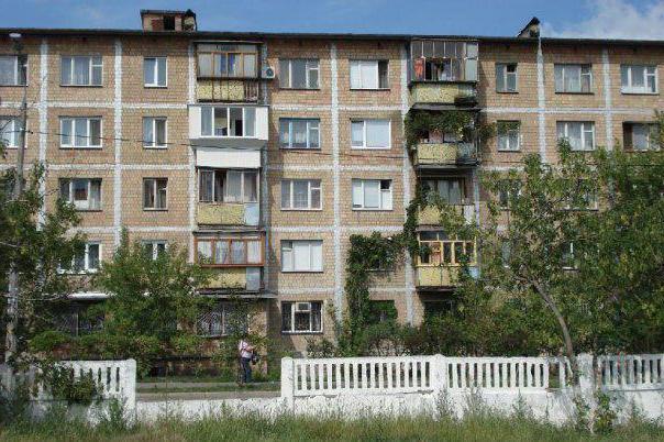 серии панельных домов