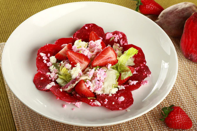 Strawberry and Beetroot Salad