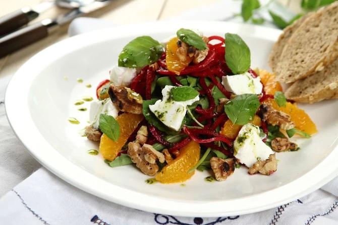 Beetroot and Oranges Salad