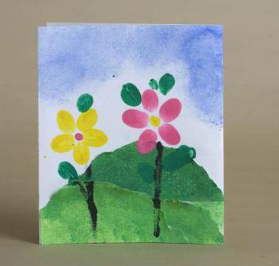открытка учителю своими руками