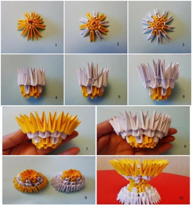 Как сделать модульное яйцо