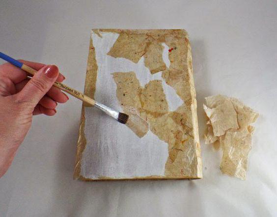 как обклеить круглую коробку бумагой