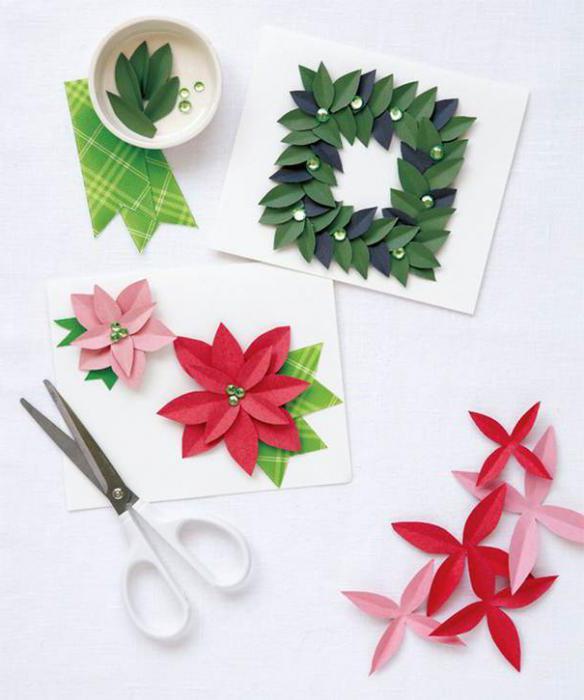 открытки на рождество христово своими руками объемные