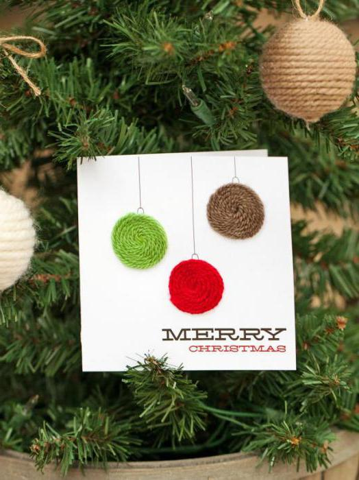 сделать открытку с рождеством христовым своими руками