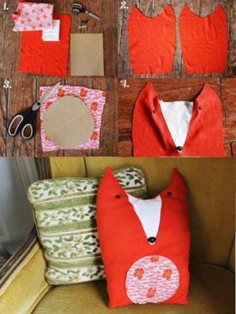 схемы диванных подушек