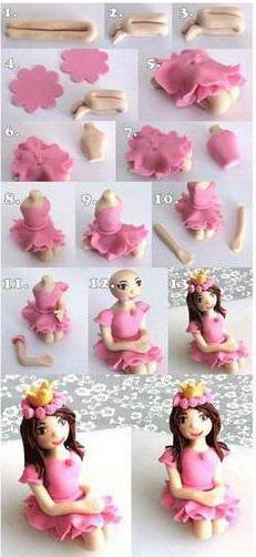 пластика для лепки кукол