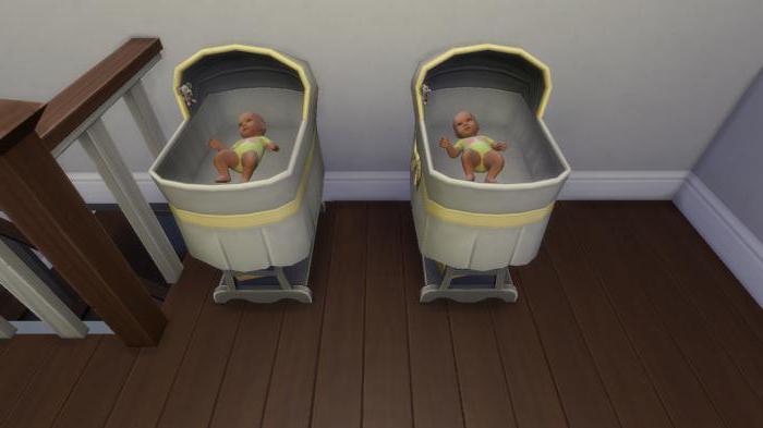 как родить двойню в симс 4 код