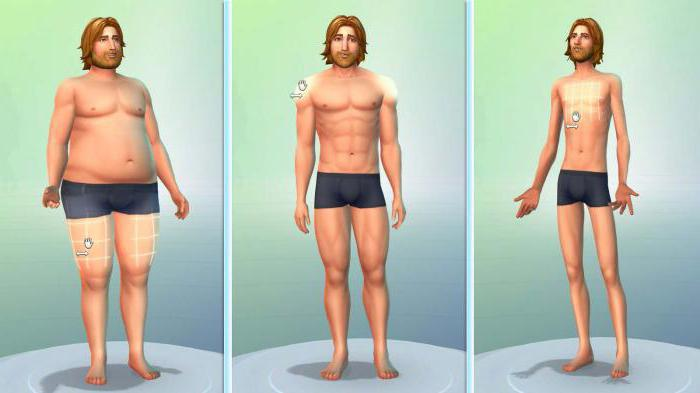 Сексуальное изменение тела в симс 3