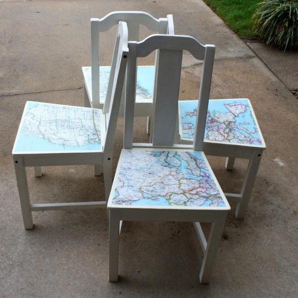Декупаж стульев для начинающих пошагово 41