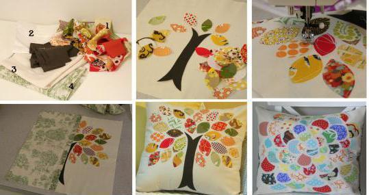 декоративные наволочки на подушки своими руками