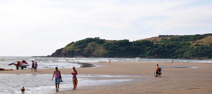 пляж морджим фото