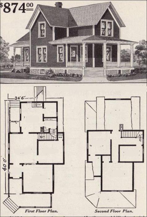 планировка американских домов фото