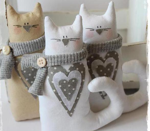 кошки тильды игрушки