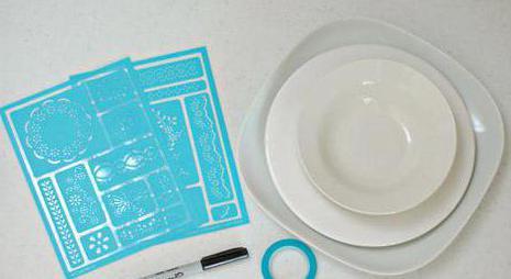 Роспись тарелки своими руками