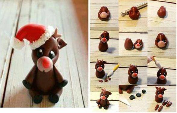 Как делается рождественский олень: мастер-класс