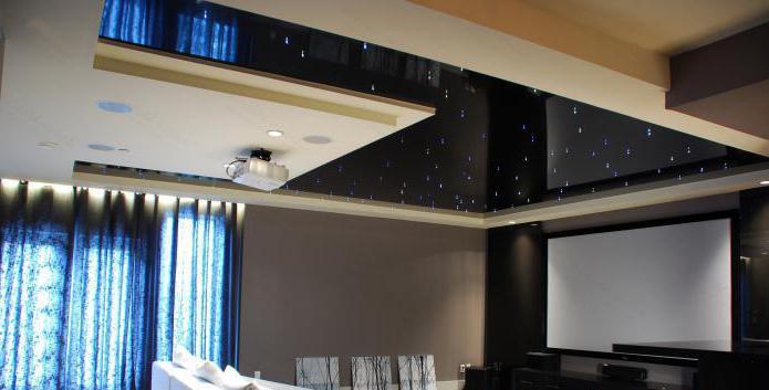 современные материалы для натяжного потолка
