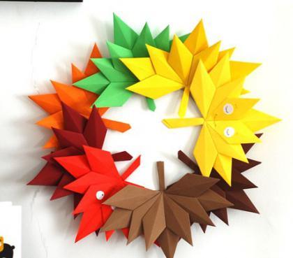 Осенние поделки из бумаги своими руками инструкция