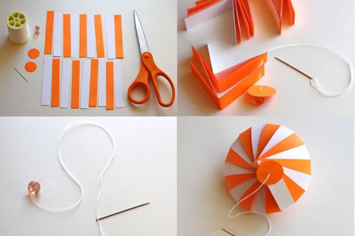 бумажные шары своими руками