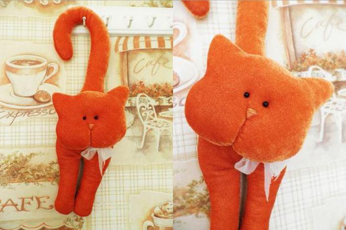 Игрушка кота своими руками из ткани