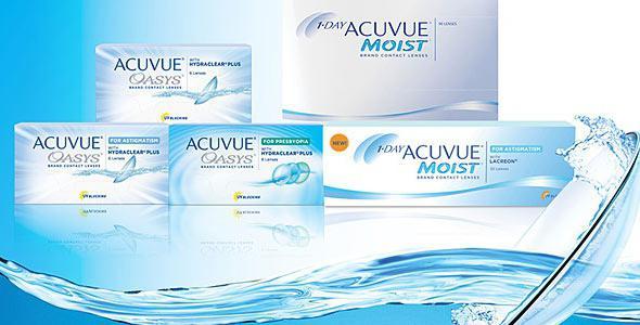 Acuvue — линзы контактные для глаз (отзывы)