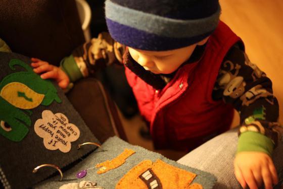 мягкая книжка для детей своими руками