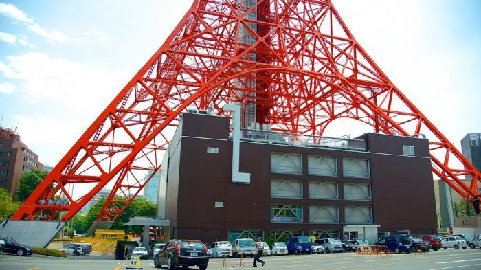 токийская телевизионная башня