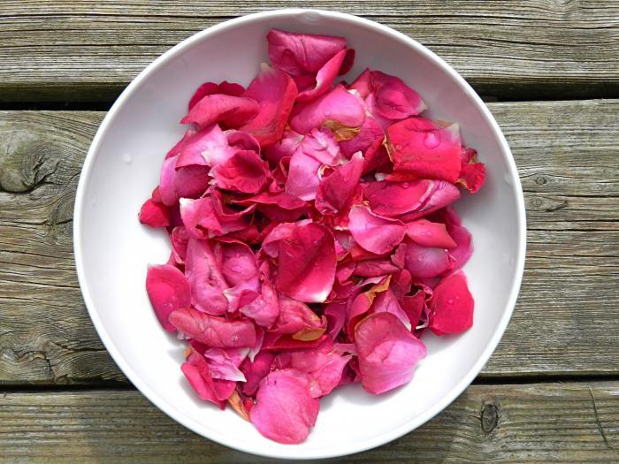 варенье из розовых лепестков рецепт