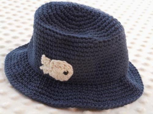 шляпа для мальчика крючком