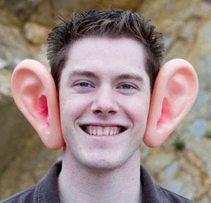 люди с большими ушами