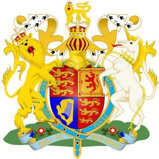 герб соединенного королевства великобритании и северной ирландии