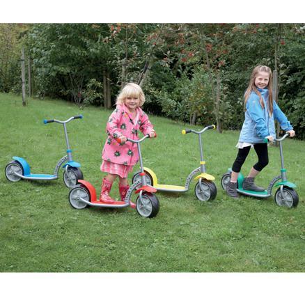 как выбрать детский самокат 3 х колесный