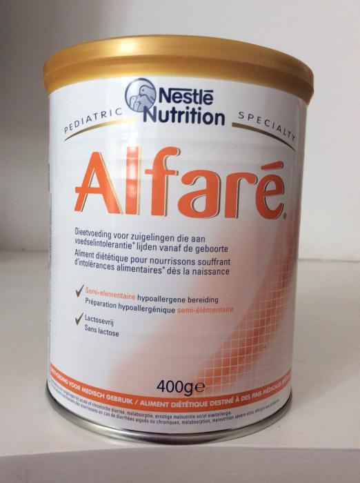 аллергия на альфаре смесь
