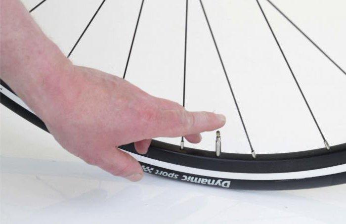 устройство велосипедного ниппеля