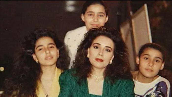 жена короля саудовской аравии фото