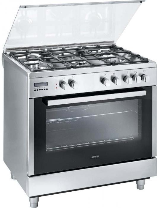плиты с духовками газовые и электрические